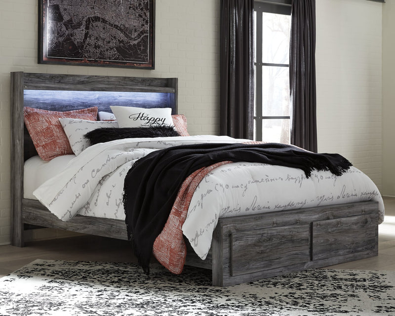 Baystorm Signature Design by Ashley Bed with 2 Storage Drawers image