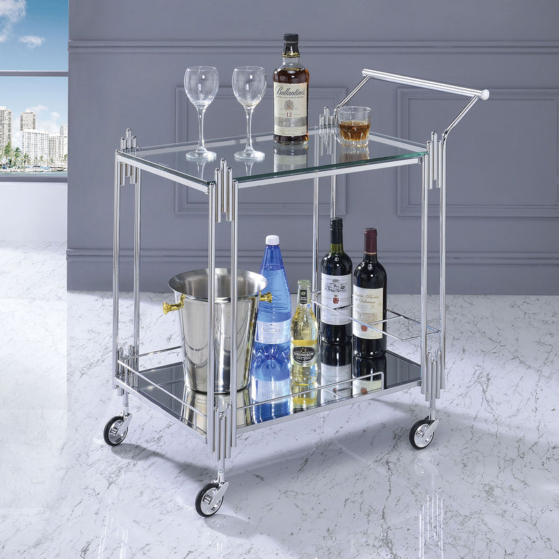 Ebba Chrome Serving Carts image