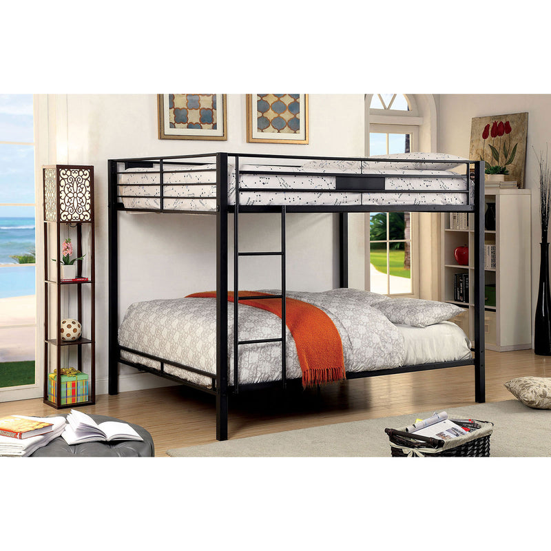 CLAREN Black Queen/Queen Bunk Bed image