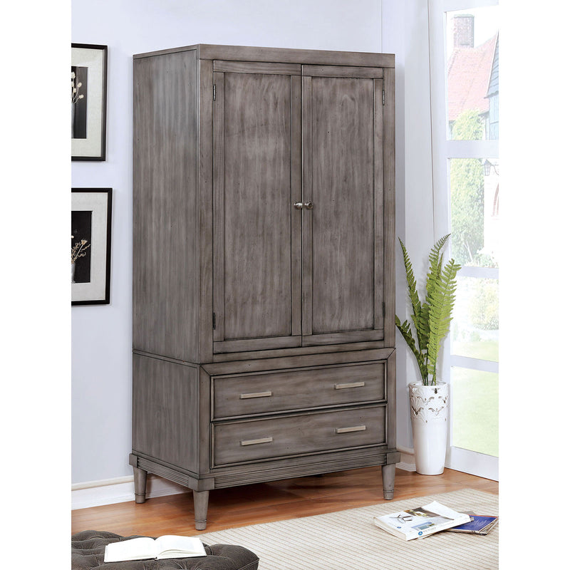 DAPHNE Gray Armoire image
