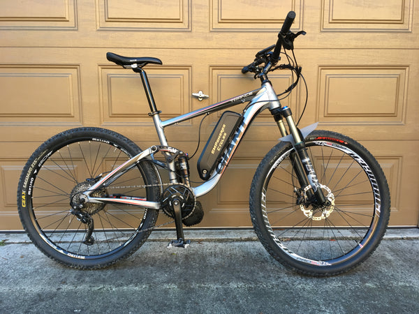 Giant Trance BB92 adaptor PF41 shimano BBSHD 100mm 1000 watt EMPowered Cycles