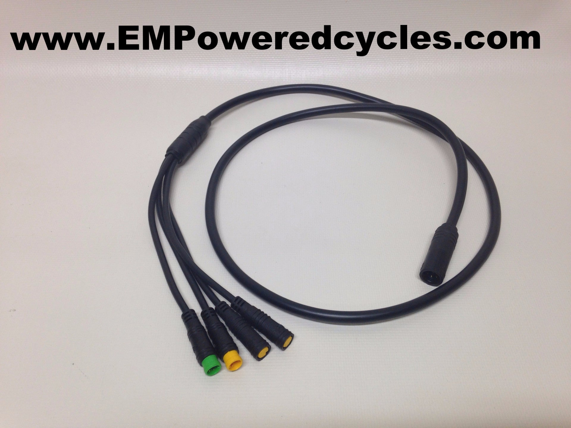 8fun Bafang BBS02 mid drive motor wiring harness | EMPowered Cycles ...