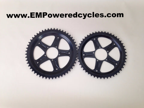 with trouser Windscreen Bafang BBS01 BBS02 Chainring Sprocket 48 teeth