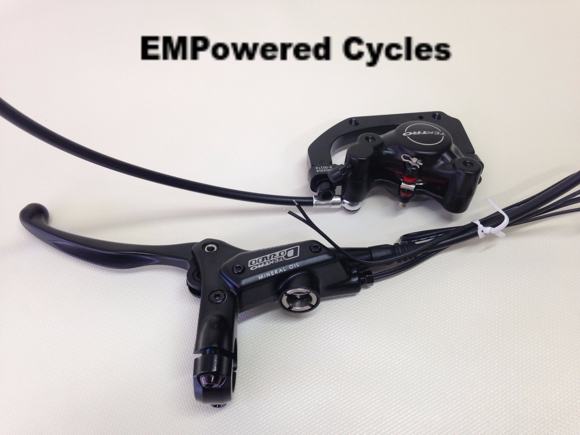 Electric Bike Hydraulic Brake Switch Best Electrical Circuit Wiring A Front Tektro Dorado Hd E710 E Empowered Rh Empoweredcycles Com Light