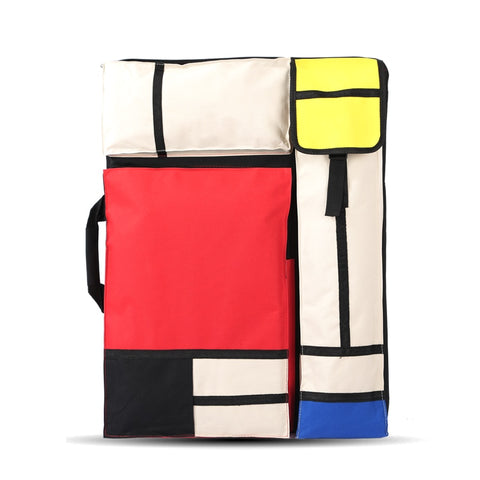 Piet Mondrian Large Art Travel Bag