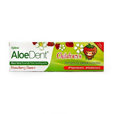 Aloe Dent Children's Toothpaste Strawberry Flavour