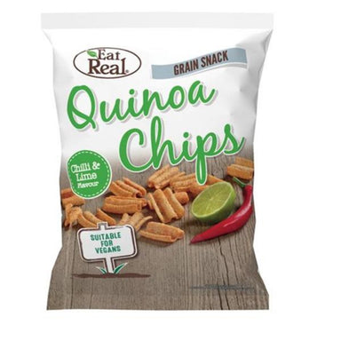 Eat Real Chilli & Lime Quinoa Chips 30g