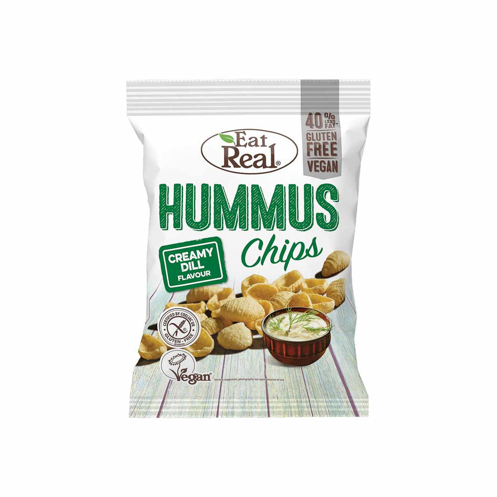 Eat Real Creamy Dill Hummus Chips 45g