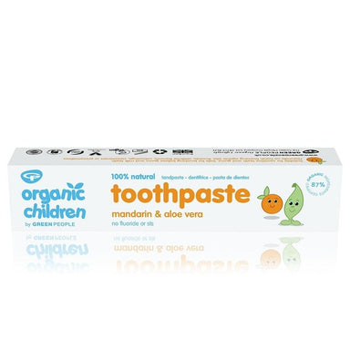 Green People Organic Children's Mandarin Toothpaste