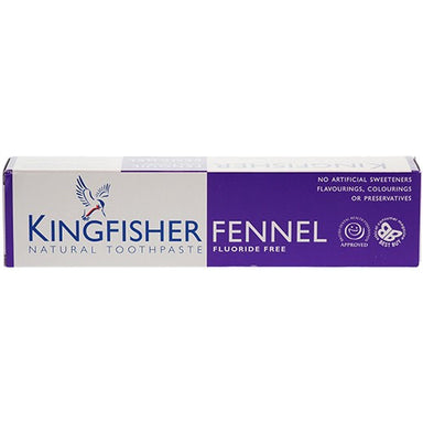Kingfisher Fennel Toothpaste Fluoride Free