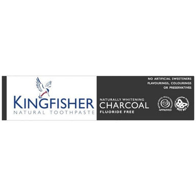 Kingfisher Natural Natural Charcoal Whitening Fluoride Free