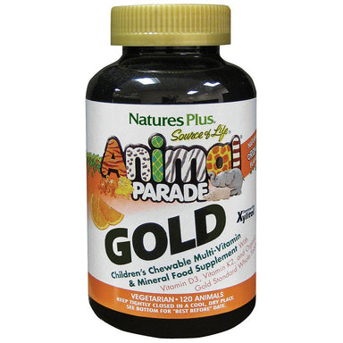 Natures Plus Animal Parade Gold Orange Flavour 120
