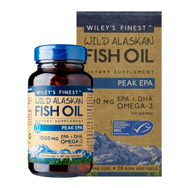 Wileys Fish Oil Peak Omega 3 60 capsules