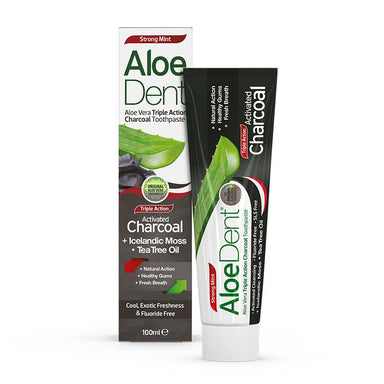 Aloe Dent Activated Charcoal Toothpaste