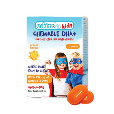Eskimo Kids Chewable DHA+