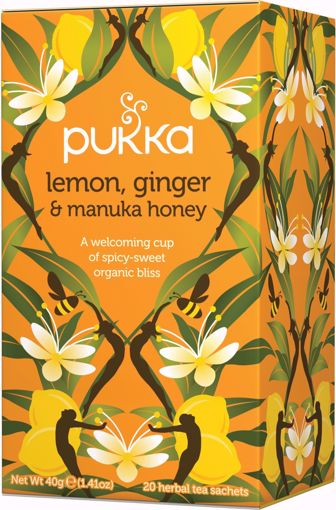 Pukka Lemon Ginger Manuka Tea