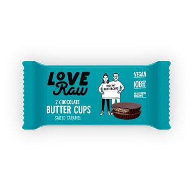 Love Raw Butter Cup Salted Caramel 34g