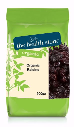 The Health Store Organic Raisins 500g