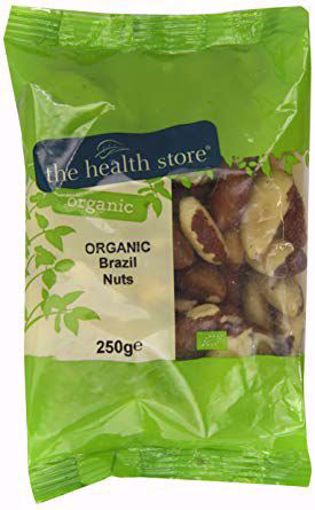 The Health Store Organic Brazil Nuts 250g
