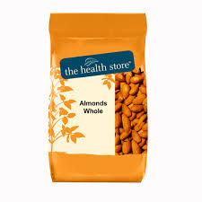 The Health Store Whole Almonds 500g