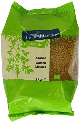 The Health Store Organic Golden Linseed 1kg