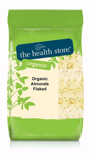 The Health Store Organic Flaked Almonds 125g
