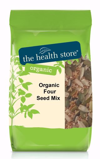 The Health Store Organic Four Seed Mix 500g
