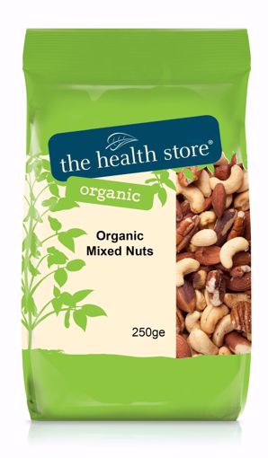 The Health Store Organic Mixed Nuts 250g