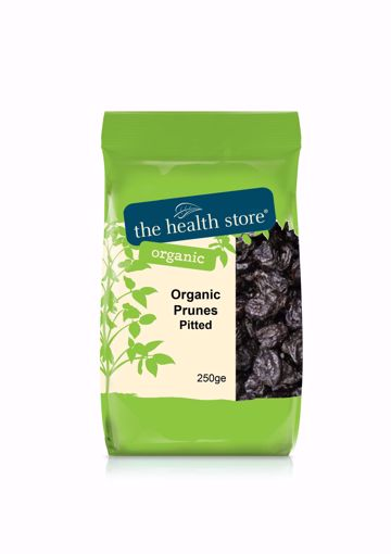 The Health Store Organic Pitted Prunes 250g