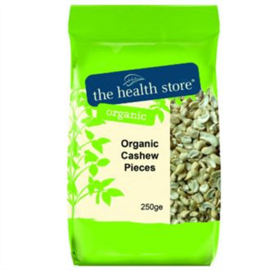 The Health Store Organic Cashew Pieces 250g