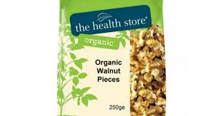 The Health Store Organic Walnut Pieces 250g