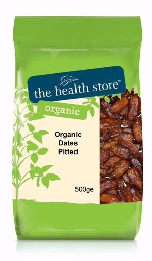 The Health Store Organic Pitted Dates 500g