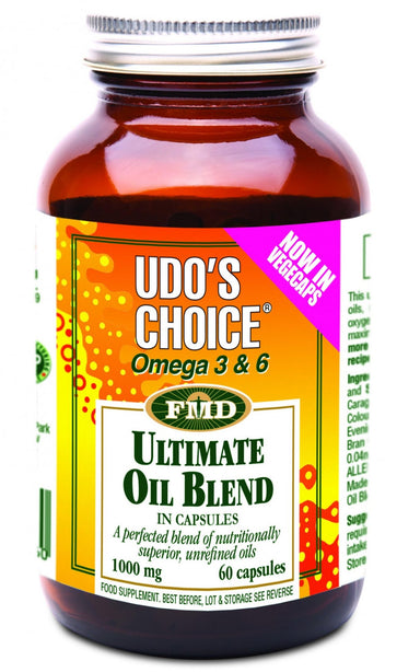 Udo's Choice Ultimate Oil Blend 60 Capsules