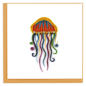 Quilled Jellyfish Greeting Card