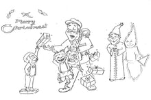 Load image into Gallery viewer, Scenes from A Christmas Carol: A Printable Coloring Book!