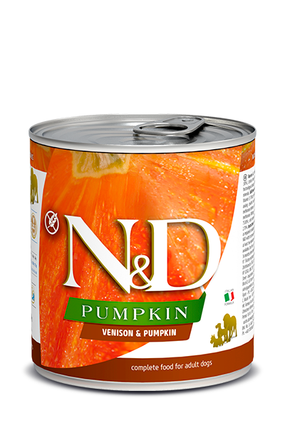 N&D DOG VENISON & PUMPKIN 285GRX12