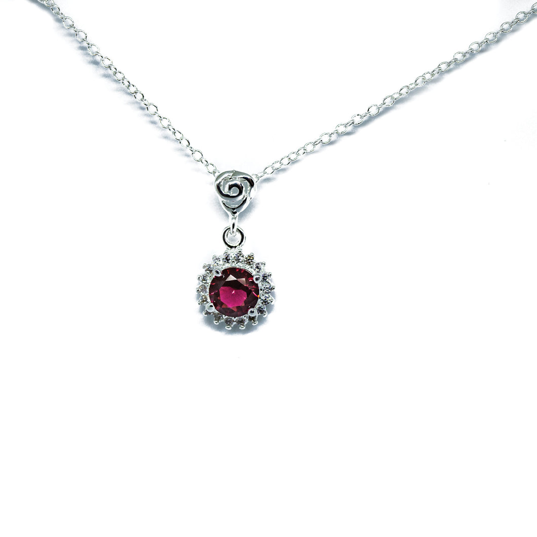 Love Burst Pendant Necklace