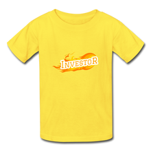 Load image into Gallery viewer, Fire Investor Kid's T-Shirt - yellow