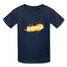 Load image into Gallery viewer, Fire Investor Kid's T-Shirt - navy