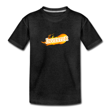 Load image into Gallery viewer, Fire Investor Kid's T-Shirt - charcoal gray