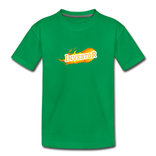 Load image into Gallery viewer, Fire Investor Kid's T-Shirt - kelly green