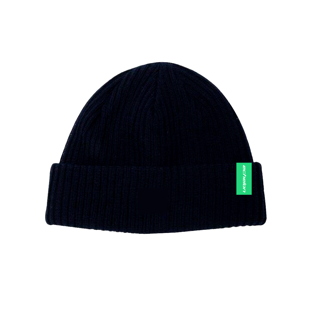 Beanie wolven label