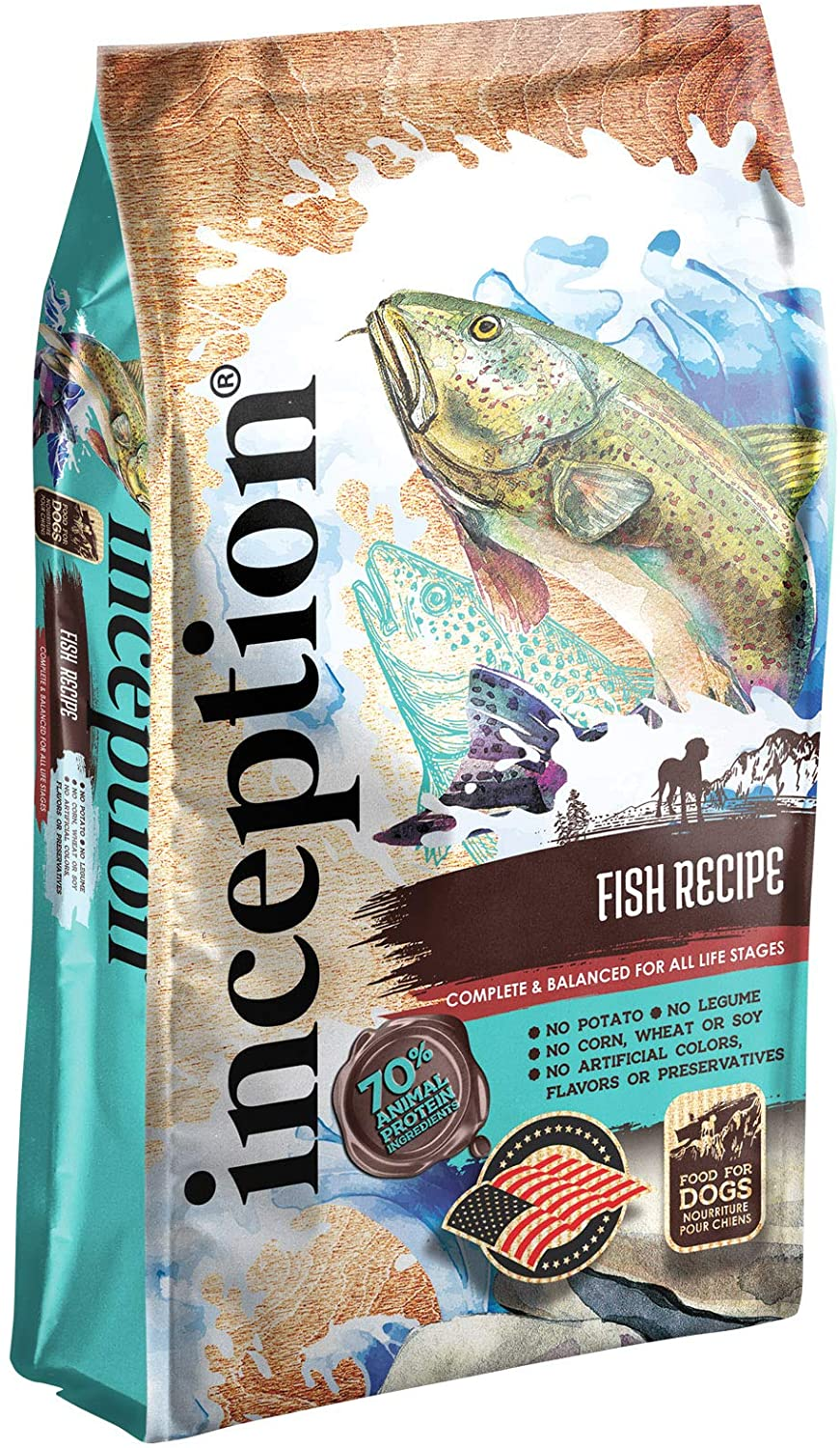 Inception Fish Recipe Whole Grain Dry Dog Food, 27-lb bag