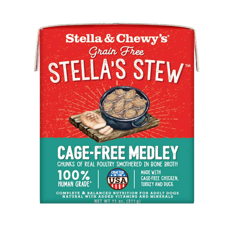 STELLA & CHEWY'S Cage Free Medley Stew for dogs, 11 oz