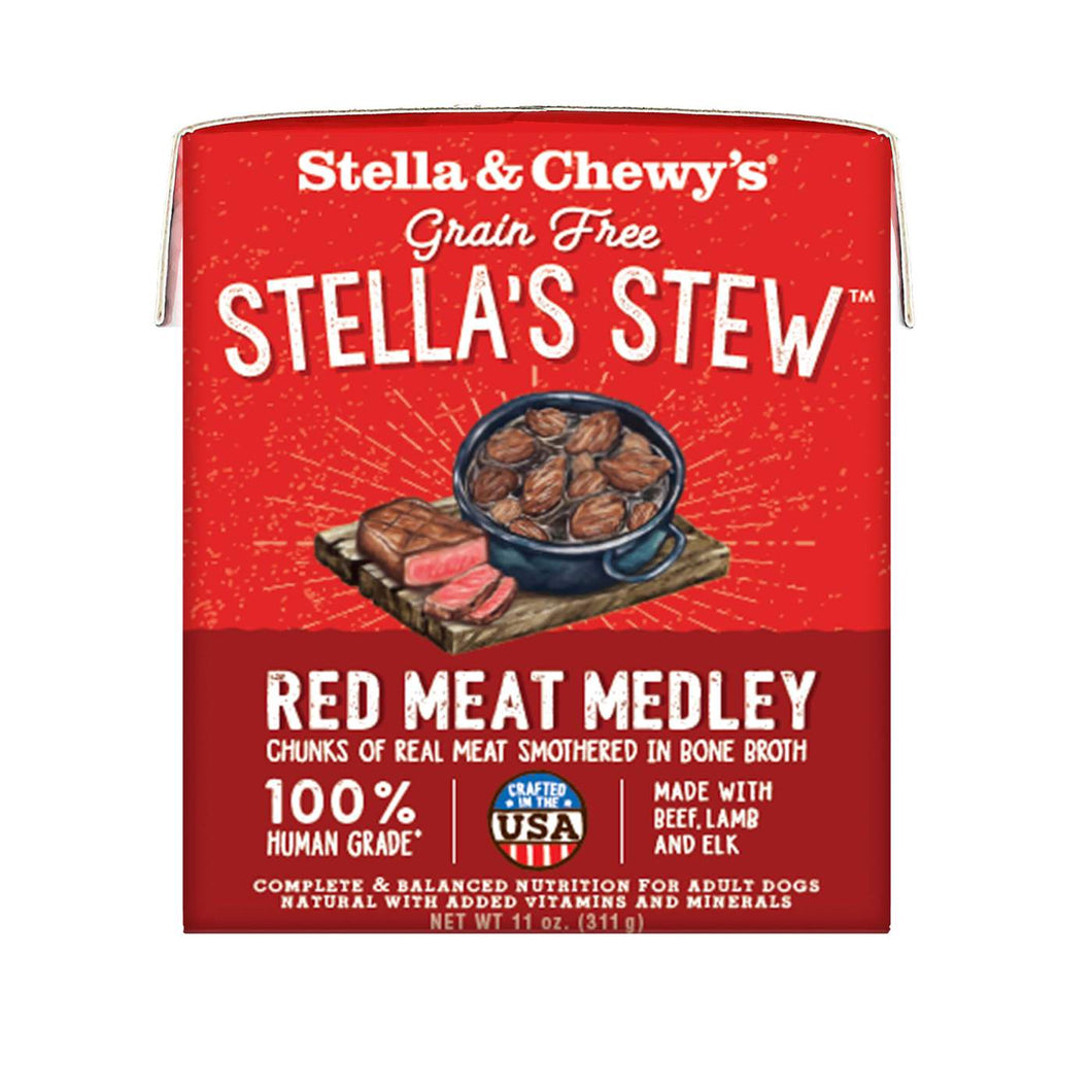 Stella & Chewy's Red Meat Medley Stew for dogs, 11 oz
