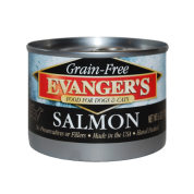 Evanger's Grain-Free Wild Salmon Canned Dog & Cat Food, 6-oz