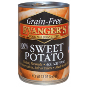 Evanger's Grain-Free Sweet Potato Canned Dog & Cat Food Supplement, 13-oz,