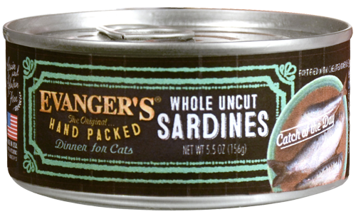 Evanger's Grain-Free Hand Packed Catch of the Day Canned Cat Food, 5.5-oz