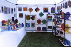 Wanda Tyner Art Fair Booth