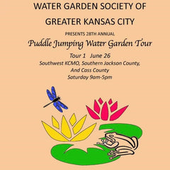 Water Garden Society of Greater KC Puddle Jumping Tour 1 Summer 2021